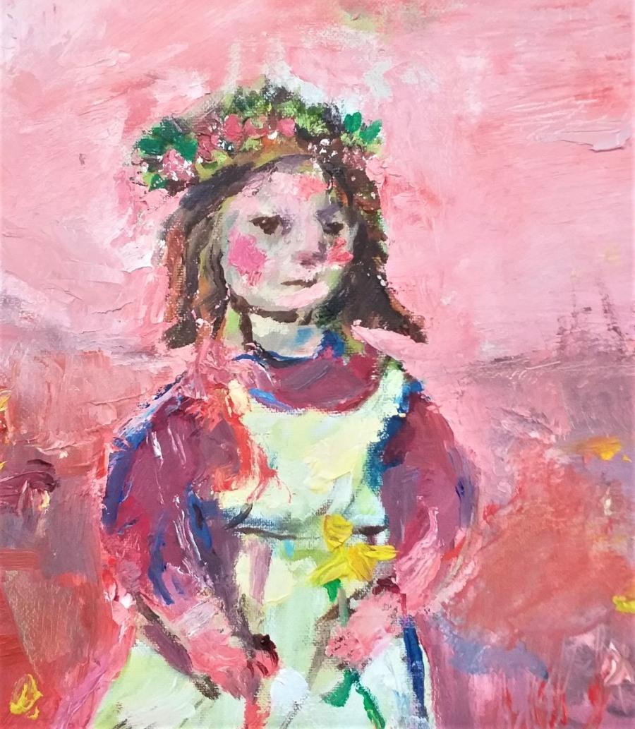 Flower Girl 4 John Martin Fulton