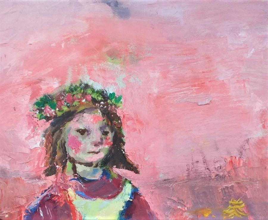Flower Girl 5 John Martin Fulton
