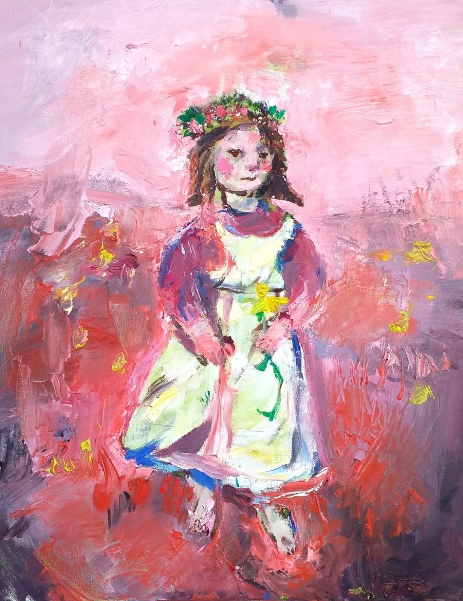 Flower Girl John Martin Fulton