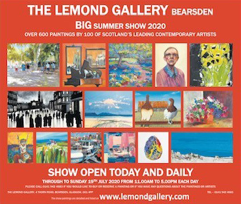 Lemond Gallery Big Summer Show 2020 Flyer