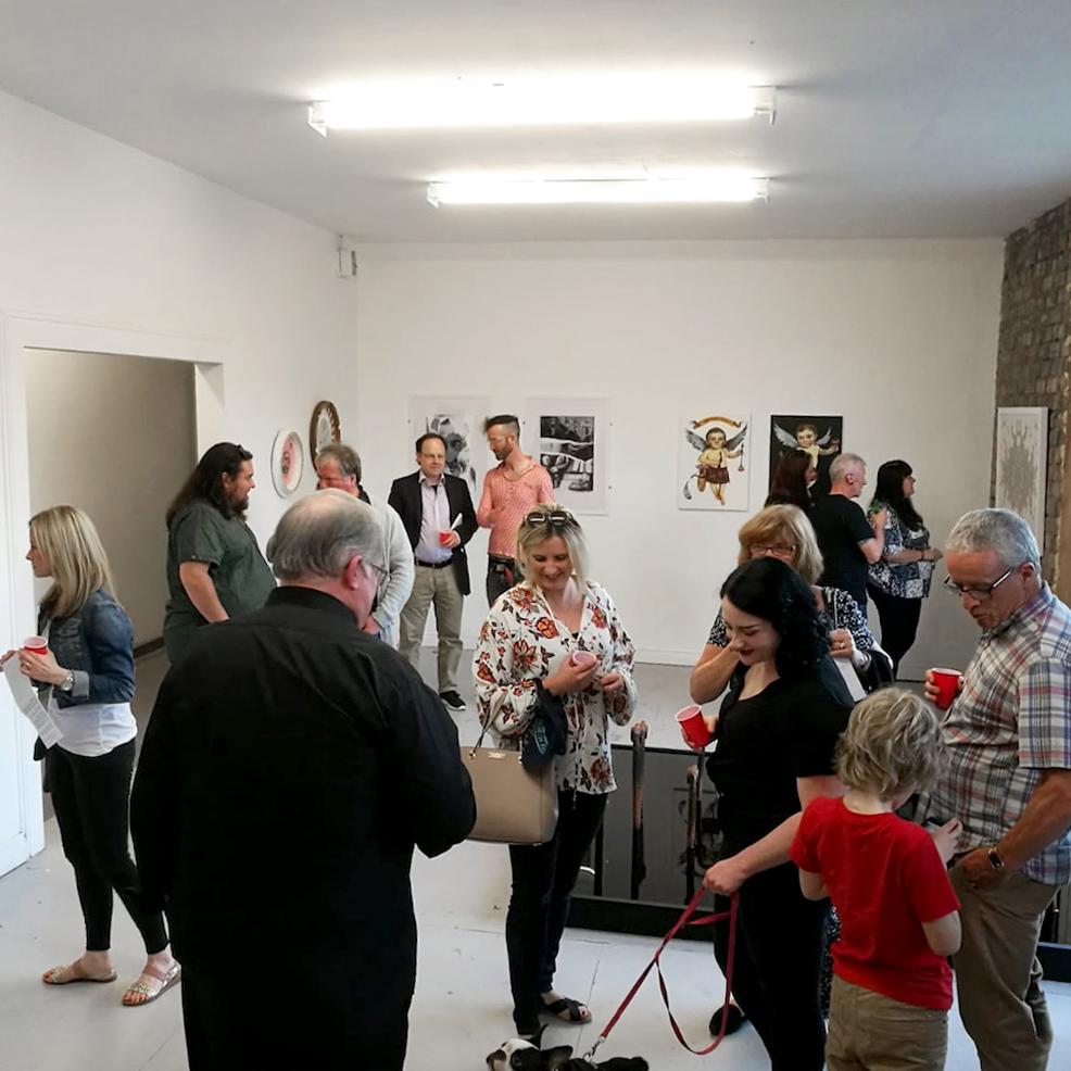 Tilt Art Exhibition Opening