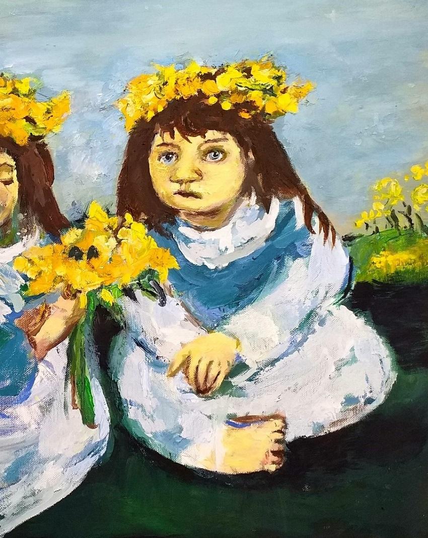 Daffodil Girls 2 John Martin Fulton
