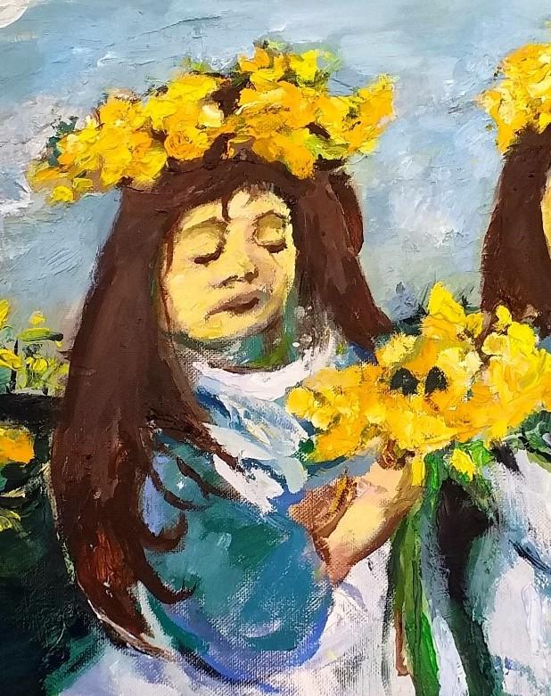 Daffodil Girls 3 John Martin Fulton