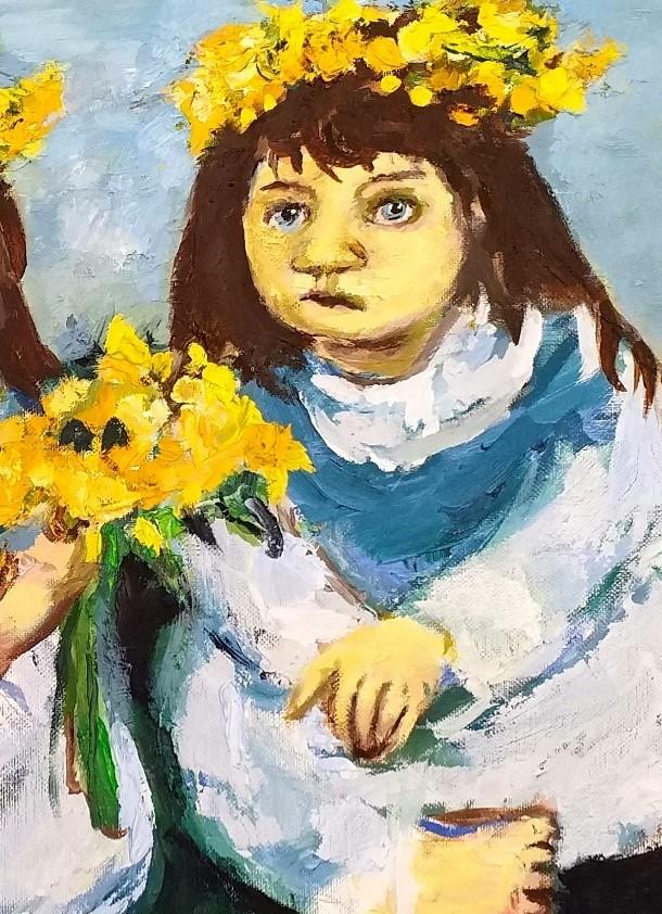 Daffodil Girls 4 John Martin Fulton