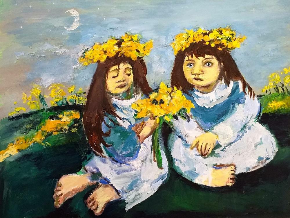 Daffodil Girls John Martin Fulton