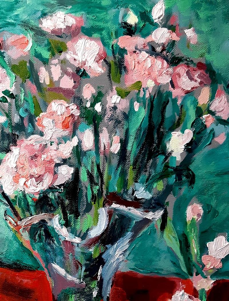 Pink Carnations 3 John Martin Fulton