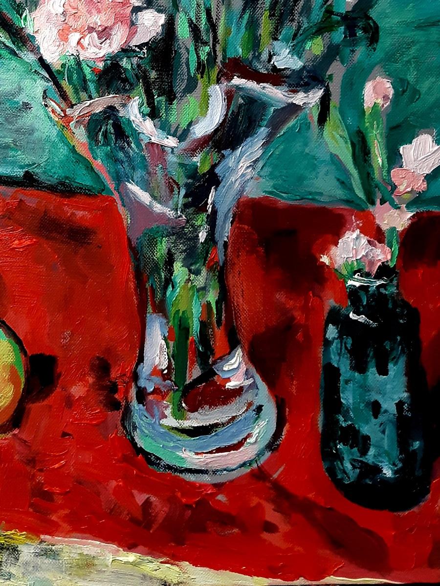 Pink Carnations 4 John Martin Fulton