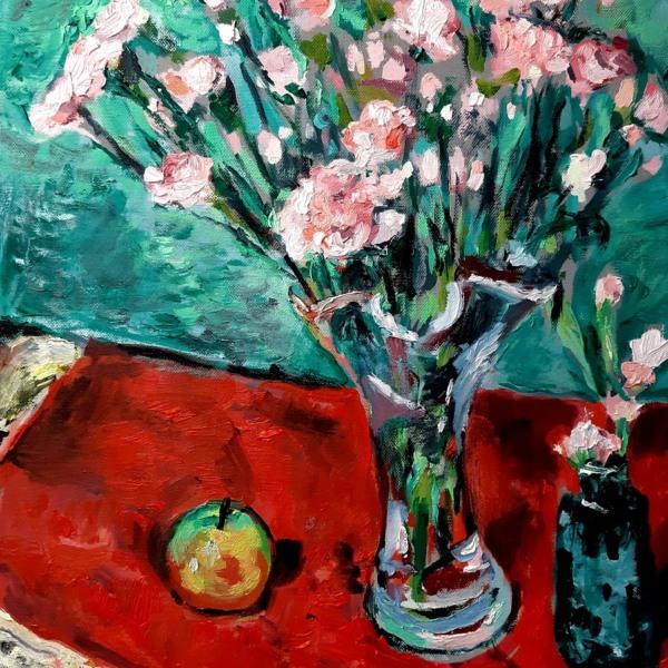 Pink Carnations John Martin Fulton