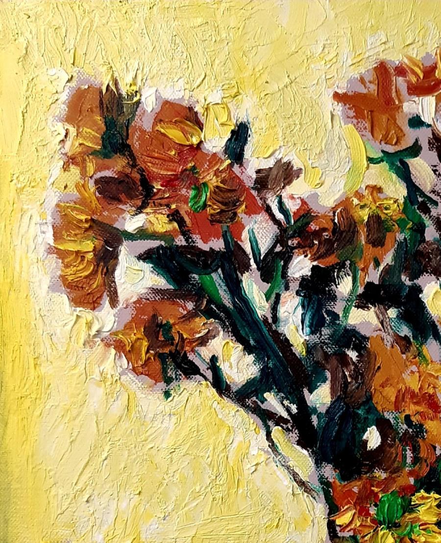 Yellow Flowers in a Vase 2 e1600176514376 John Martin Fulton