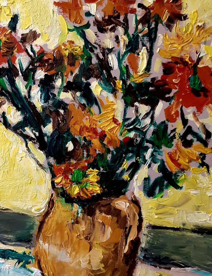 Yellow Flowers in a Vase 3 e1600176415915 John Martin Fulton