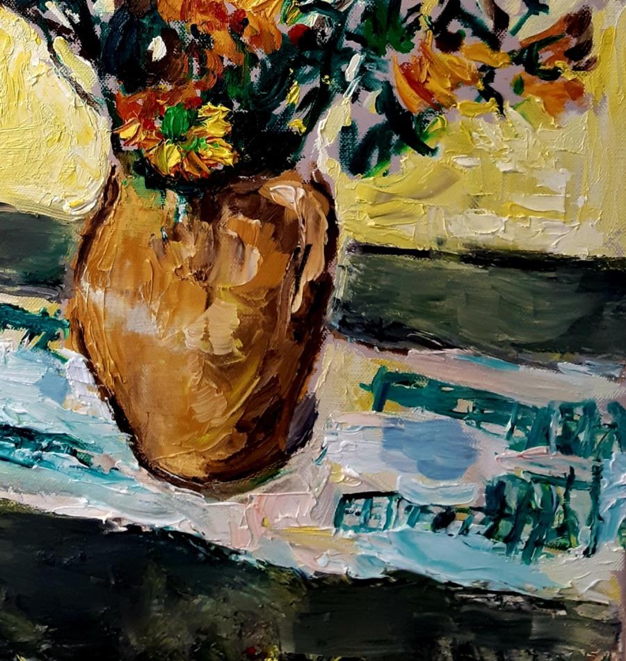 Yellow Flowers in a Vase 4 e1600176313647 John Martin Fulton